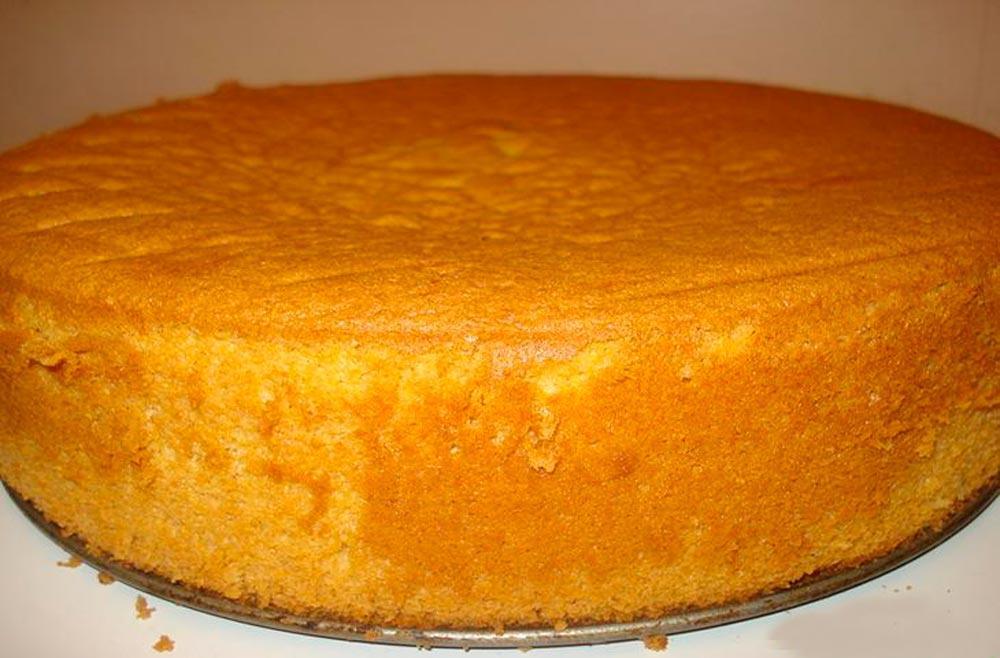 Рецепт приготовления бисквита в домашних условиях