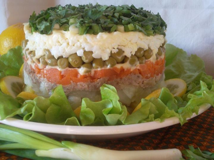 Салат из печени трески рецепт с фото с рисом