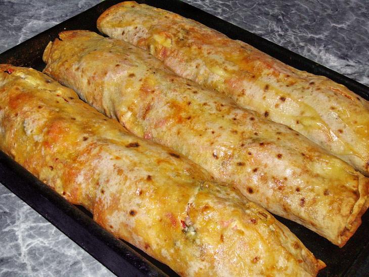 Салат из крабовых палочек и картофелем