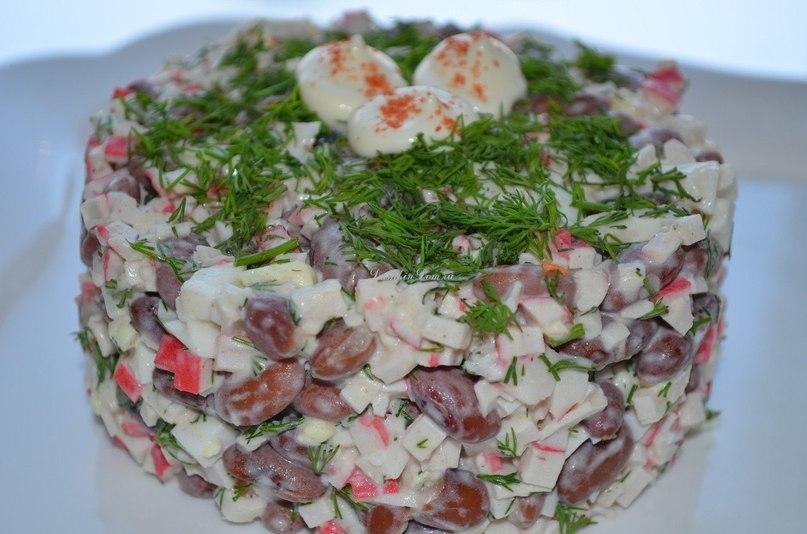 Салат с фасолью - russianfood.com