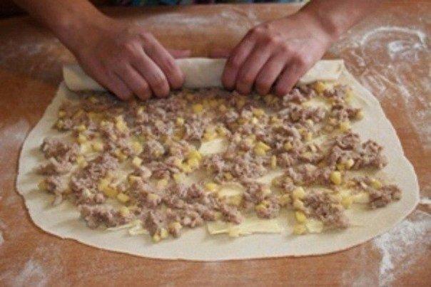 Блюда из фарша и теста рецепт на пару