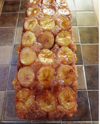 банановый карамельный пирог