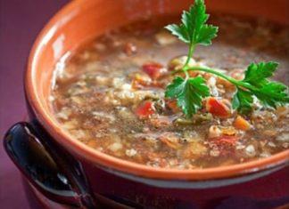 рецепт гречневого супа с шампиньонами