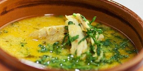 Грузинский суп чихиртма рецепт с фото