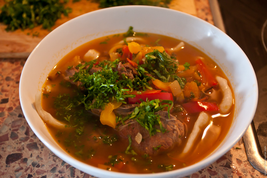 Простой рецепт суп лагман в домашних условиях