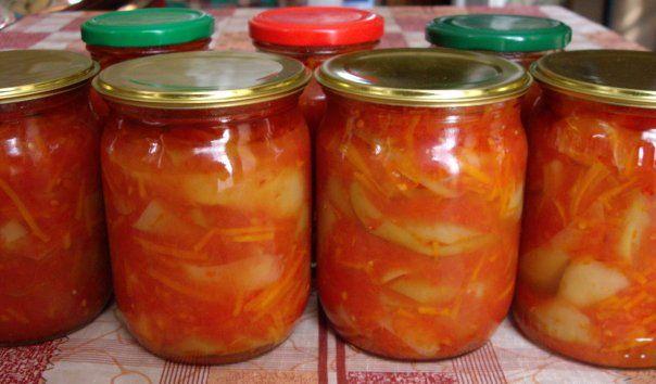 Перец болгарский на зиму рецепты с морковью
