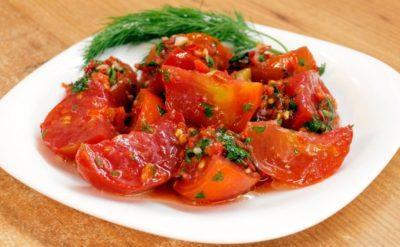 помидоры корейские