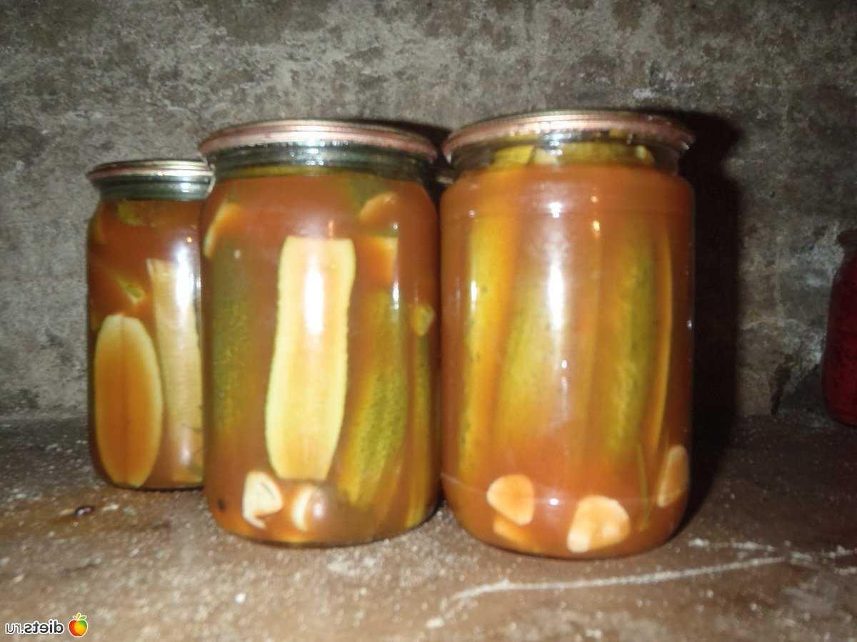 Огурцы в томате на зиму – обалденный рецепт изоражения