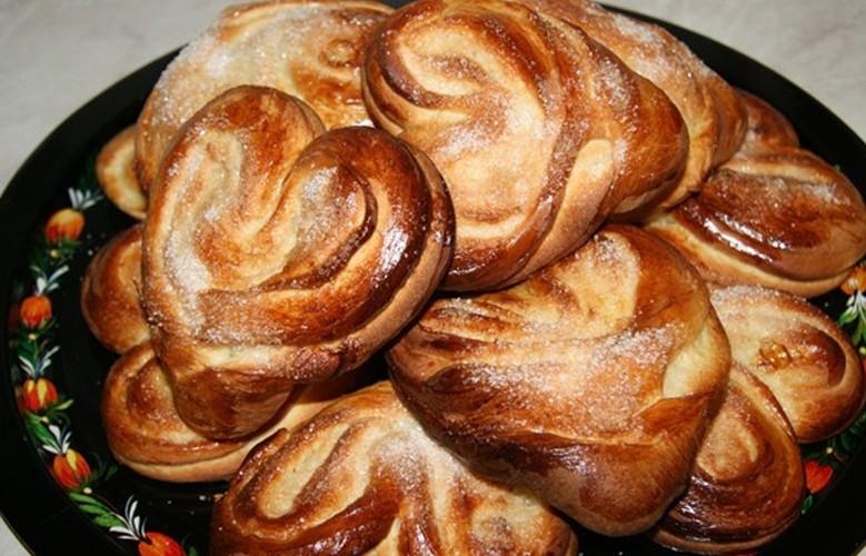 Рецепт булочки плюшка