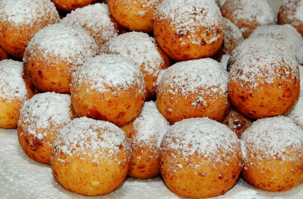 рецепт пышных творожных пончиков