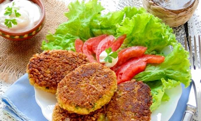 котлеты из кабачков постные рецепт в духовке