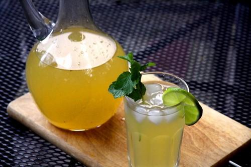 Рецепт лимонада медово-имбирного