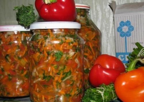Заправки для супов на зиму