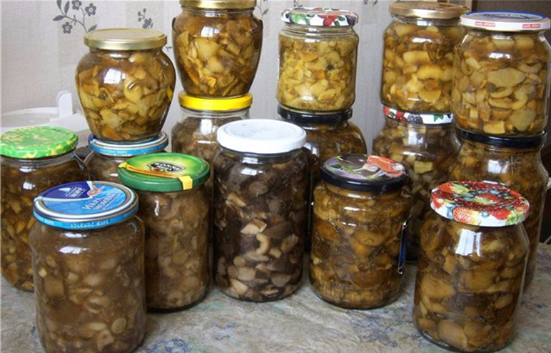 Заготовка на зиму белых грибов мариновать