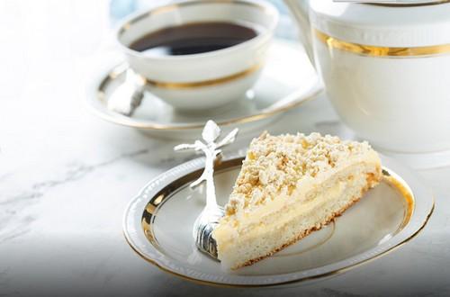 Рецепт торта с миндалем