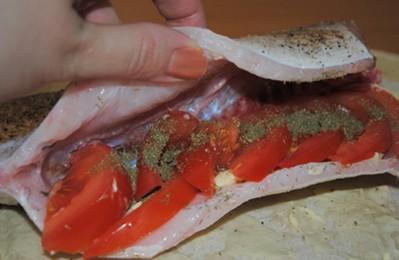 рыба в лаваше