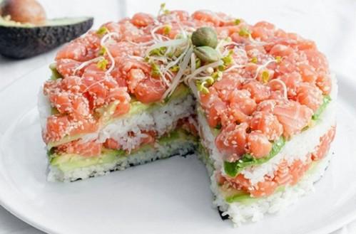 рецепт с фото салата с красной рыбы