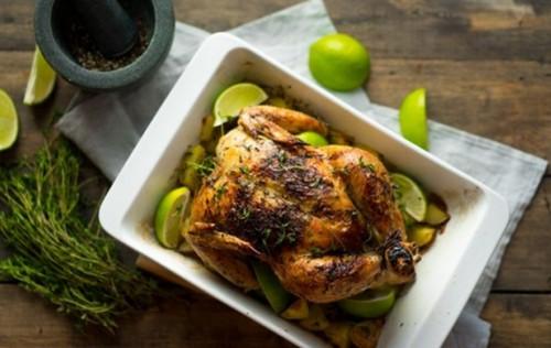 Как запечь курицу
