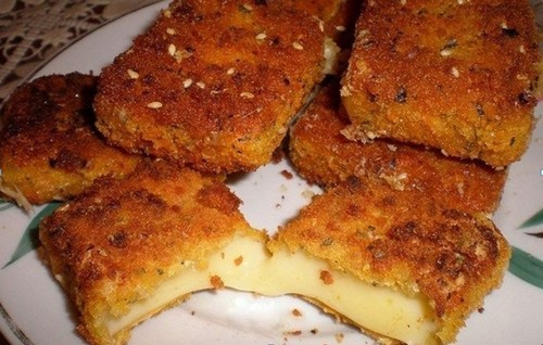 Жареный сыр