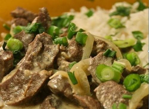 Рецепт говяжьей печени