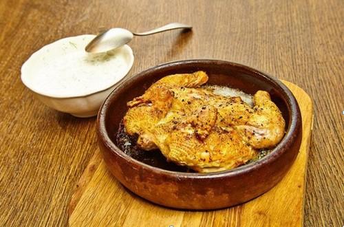 рецепт с фото жареный цыпленок в духовке