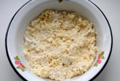 салат из лапши роллтон