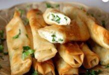 Сырные палочки из лаваша: быстрый рецепт приготовления