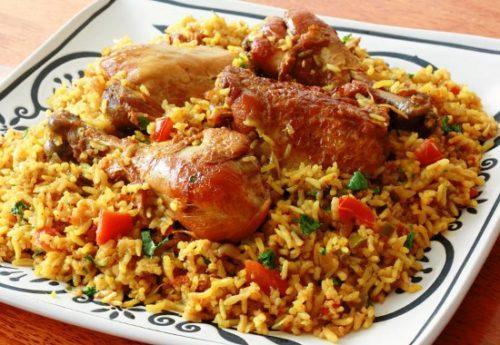 рецепт плова из курицы