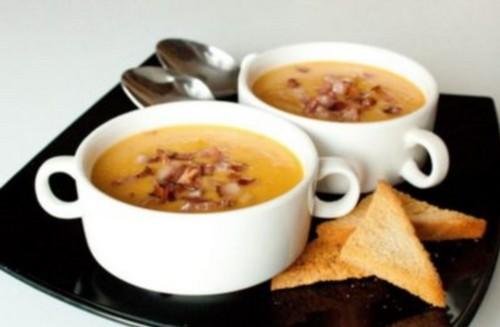 рецепт горохового супа пюре