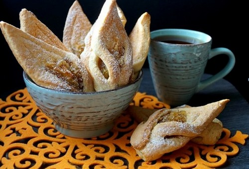 рецепт печенья с яблоками