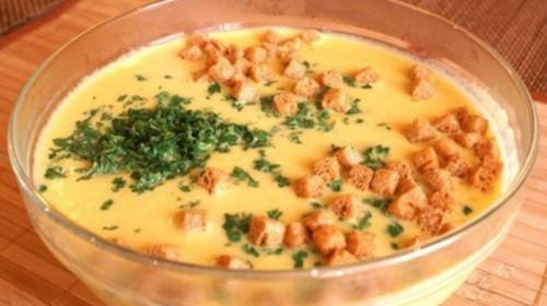Как сварить сырный суп