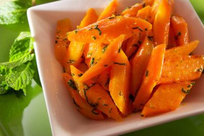 Морковь в кленовом сиропе
