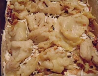 Лазанья  с грибами