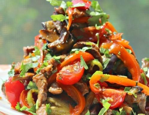salat-iz-zharenyx-baklazhanov