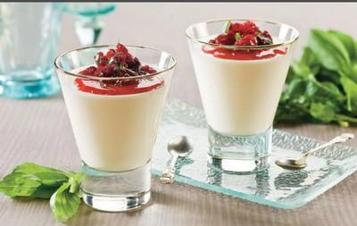 рецепт молочного желе
